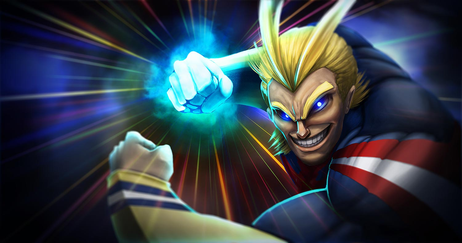 All Might Hero